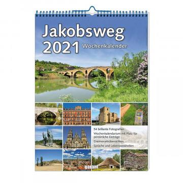 Wochenkalender »Jakobsweg 2021«