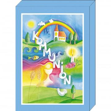 Grußkarten-Geschenkbox Kommunion