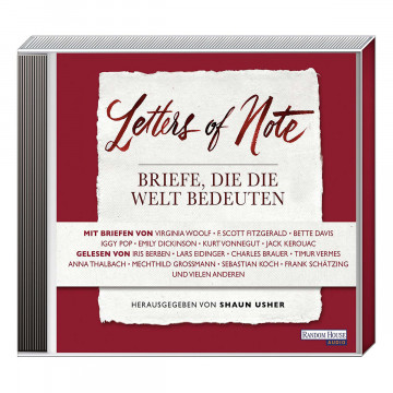 3 CDs Letters of Note