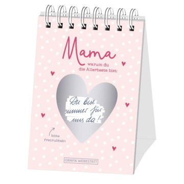 """Rubbel-Tischkalender """"Mama"""" (nicht jahresgebunden)"""