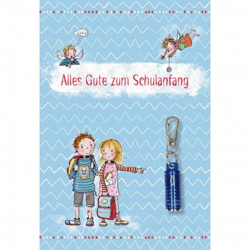 Glückwunschkarte Alles Gute zum Schulanfang (5 Stück)