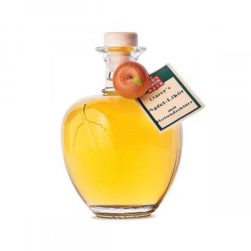Apfellikör mit Holunder
