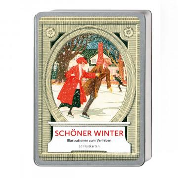 Postkartenbox »Schöner Winter«