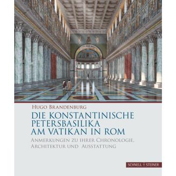 Die konstantinische Petersbasilika am Vatikan in Rom
