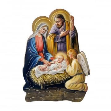 Krippe Heilige Familie Engel