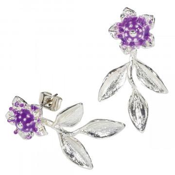 Ohrringe »Lavendelblüte«