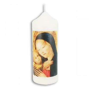 Kerze »Madonna mit Kind«