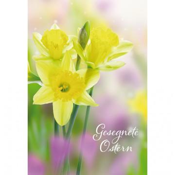 Glückwunschkarte Gesegnete Ostern (6 Stück)
