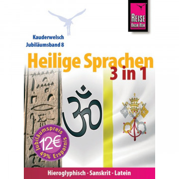 Reise Know-How Kauderwelsch Heilige Sprachen 3 in 1
