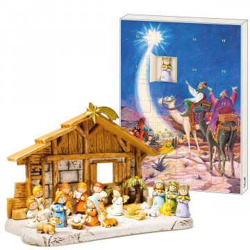 2er-Set: Adventskalender »Geburt Christi«