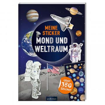 Meine Sticker - Mond und Weltraum