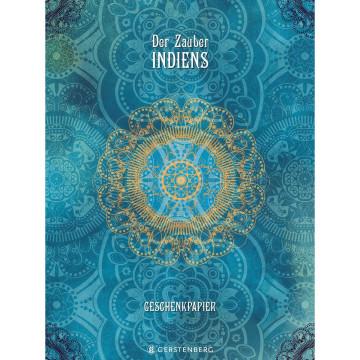 Geschenkpapier-Heft »Der Zauber Indiens«