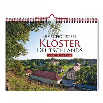 Geburtstagskalender Die schönsten Klöster Deutschlands