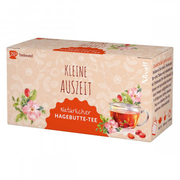 Natürlicher Hagebutten-Tee »Kleine Auszeit«
