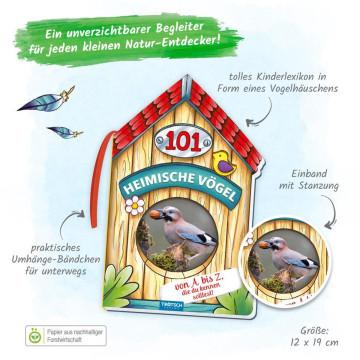 Kinderbuch »101 Heimische Vögel von A bis Z, die du kennen solltest«