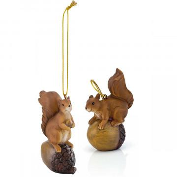 2er-Set Deko-Anhänger »Eichhörnchen«
