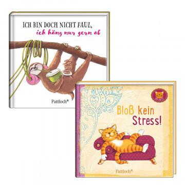 2er-Set Bücher »Bloß kein Stress« und »Ich bin doch nicht faul«