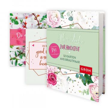 Postkarten-Box »Alles Liebe zur Hochzeit«