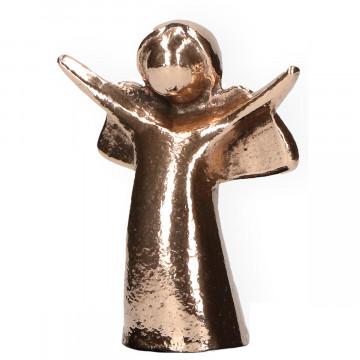 Bronzefigur - Engel der Freude