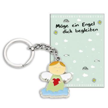 Schlüsselanhänger »Möge ein Engel dich begleiten«