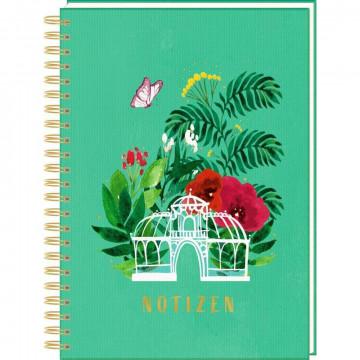 Ringbuch DIN A4 - Notizen - Frühling im Herzen
