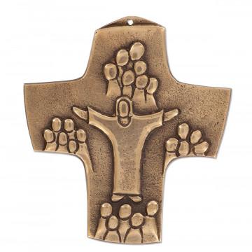 Kommunionkreuz aus Bronze