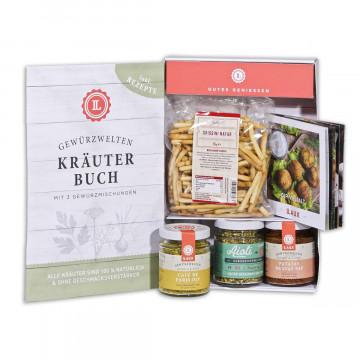 Kräuterbuch-Geschenkset