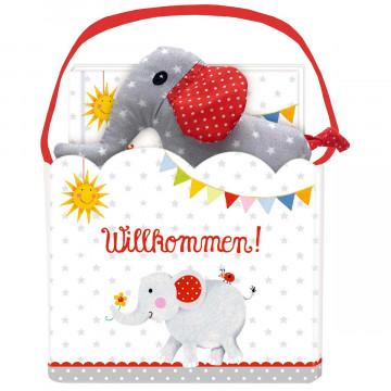 Geschenkset »Babyglück-Willkommen«