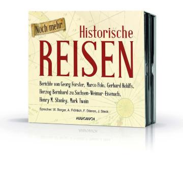 6 CDs »Noch mehr Historische Reisen«
