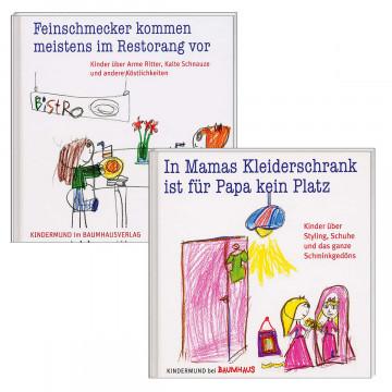 2er-Set Humorvolle Kinderzitate