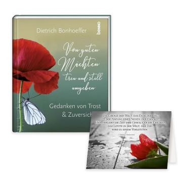 2er-Set: Bonhoeffer Kondolenz-Karten und Buch