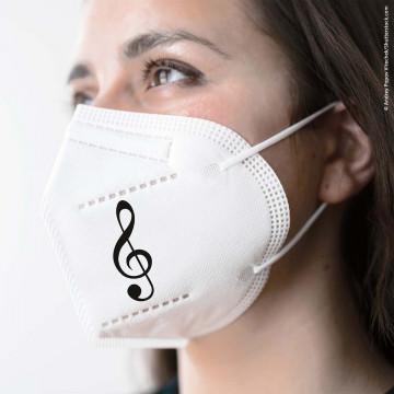 FFP2 Maske »Violinschlüssel«