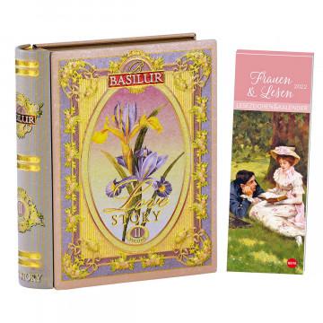 2er-Set Lesezeichen-Kalender und Tee
