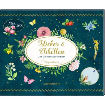 Stickerbuch - Zeitlos schön - Sticker und Etiketten (Marjolein Bastin)