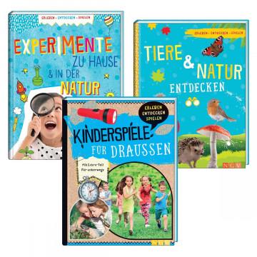 3er-Set Kinderbücher »Erleben und Entdecken«