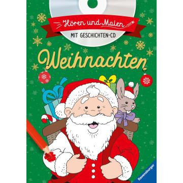 Hören und Malen: Weihnachten (mit CD)
