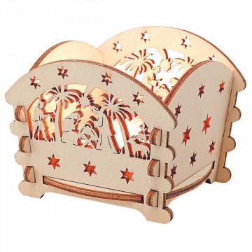 Teelicht »Stern von Bethlehem«