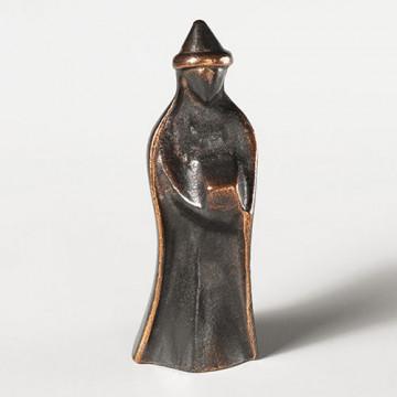 König, stehend, mit flachem Hut (1 Stück)