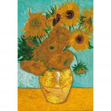 Puzzle »Vase mit Sonnenblumen«