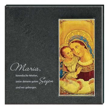 Schiefertafel »Maria mit Kind«