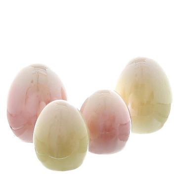 4er-Set Porzellan-Eier