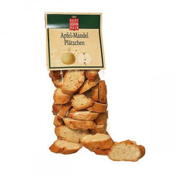 Apfel-Mandelplätzchen