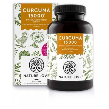 Curcuma-Kapseln 15000