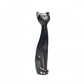 Sitzende Katze, klein (1 Stück)