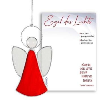 Engel des Lichts in rot