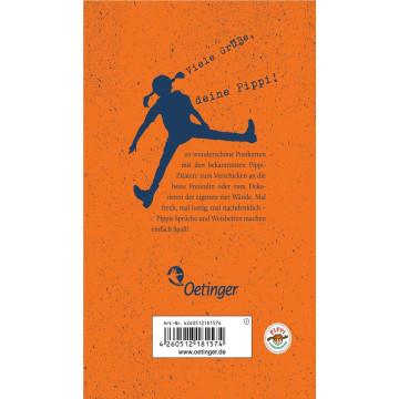 Hej, Pippi Langstrumpf! 20 Postkarten