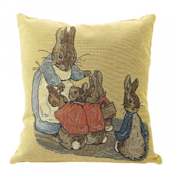 Gobelinkissen »Peter Rabbit«