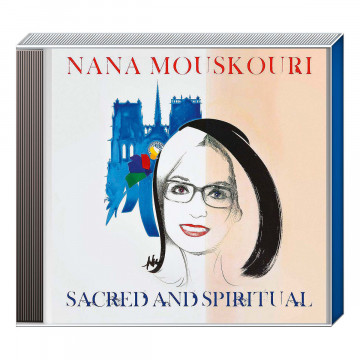 CD Nana Mouskouri Scared and Spiritual