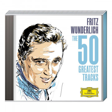 2CDs: »Fritz Wunderlich The 50 Greatest Tracks«