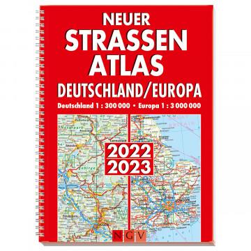 Neuer Straßenatlas Deutschland/Europa 2022/2023